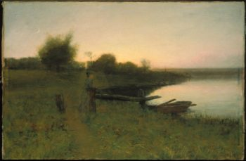 In The Gloaming | Henry Golden Dearth | oil painting