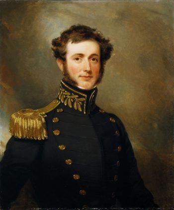 Lieutenant Philip Augustus Stockton | Henry Inman | oil painting