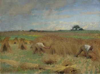 Reapers 1891 | George Clausen | oil painting