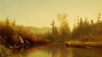 Autumn | Homer Dodge Martin | oil painting