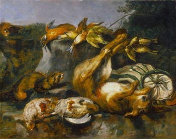 Dead Game And Weasels | Jan Fyt | oil painting