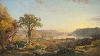 Indian Summer | Jasper Francis Cropsey | oil painting