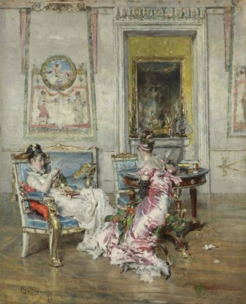 Ladies of the First Empire 1875 | Giovanni Boldini | oil painting