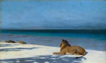 Solitude | Jean Leon Gerome | oil painting
