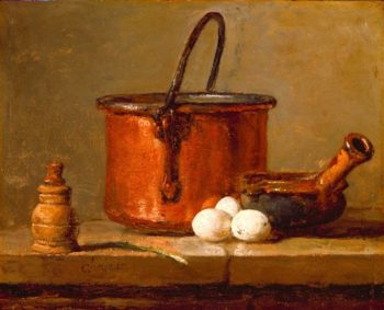 Still Life | Jean Sim?on Chardin | oil painting