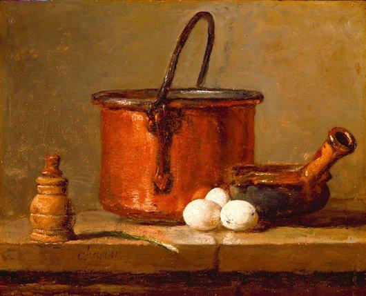 Still Life   Jean Sim?on Chardin   oil painting