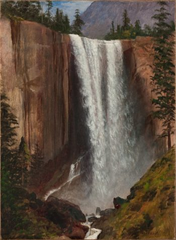Vernal Falls | Jeremiah Theus | oil painting