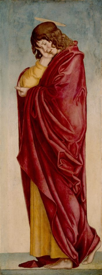 The Mourning Saint John | Job Berckheyde | oil painting