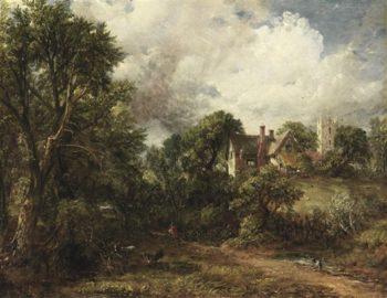 The Glebe Farm | John Constable | oil painting