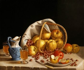 Still Life With Yellow Apples | John F. Francis | oil painting