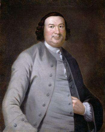 Colonel William Allen | John Hesselius | oil painting