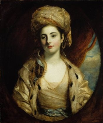 Mrs. Richard Paul Jodrell | John Hoppner | oil painting