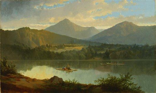 Western Landscape | John Mix Stanley | oil painting