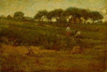 The Tomato Patch   John Singer Sargent   oil painting