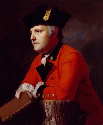 Colonel John Montresor | John Singleton Copley | oil painting