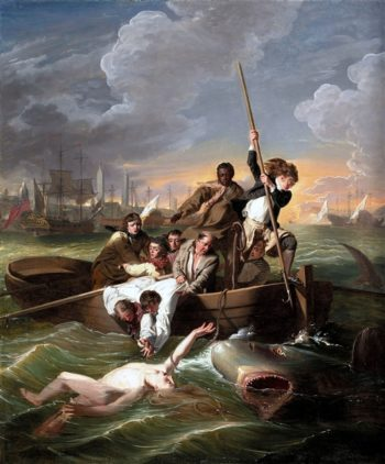 Watson And The Shark | John Singleton Copley | oil painting