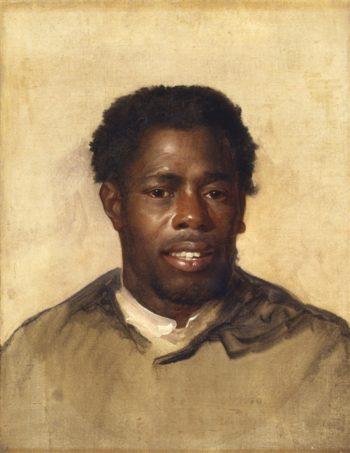 Head Of A Negro | John Singleton Copley | oil painting