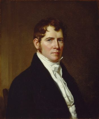 Portrait Of A Man   John Vanderlyn   oil painting