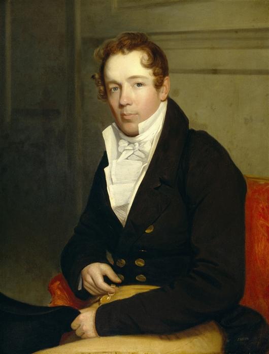 Jacob Houseman | John Wesley Jarvis | oil painting