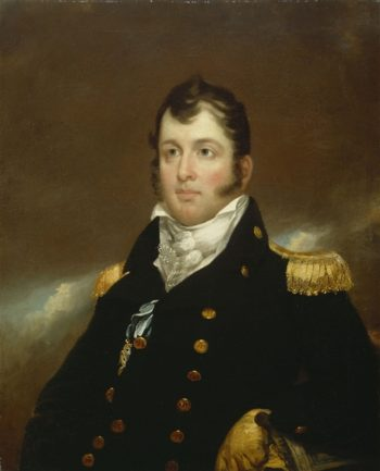 Commodore Oliver Hazard Perry | John Wesley Jarvis | oil painting