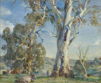Woodside Pastoral | Hans Heysen | oil painting