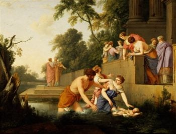 The Finding Of Moses | Laurent de La Hyre | oil painting