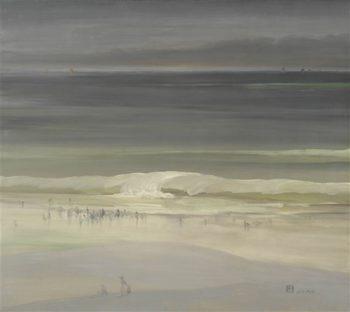 The Seashore | Leon Dabo | oil painting