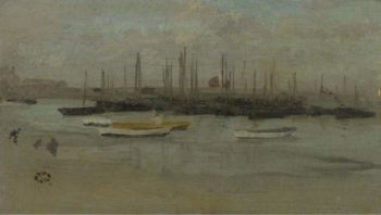 Blue and Opal | James McNeill Whistler | oil painting