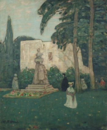 Avignon the Garden | James Wilson Morrice | oil painting