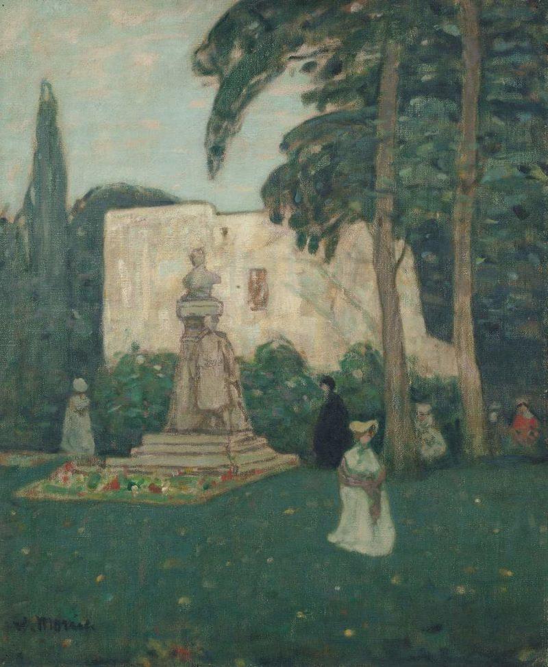 Avignon the Garden | James Wilson Morrice | oil painting