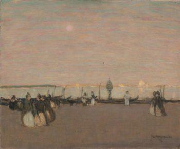 Evening Stroll Venice | James Wilson Morrice | oil painting