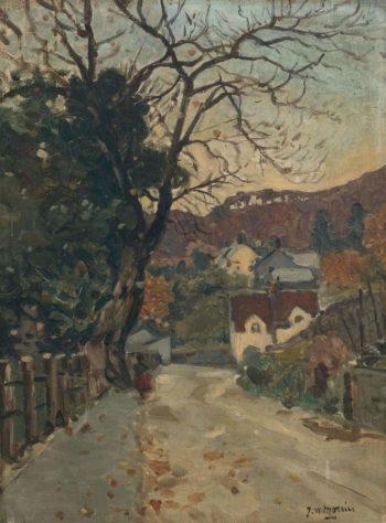 Trefriw North Wales | James Wilson Morrice | oil painting