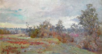 After Autumn Rain | Jane Sutherland | oil painting