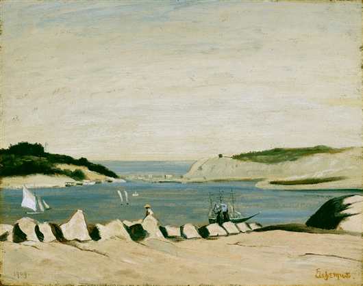 Coast Scene | Louis Michel Eilshemius | oil painting