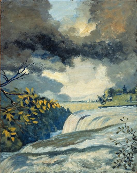 Niagara Falls | Louis Michel Eilshemius | oil painting