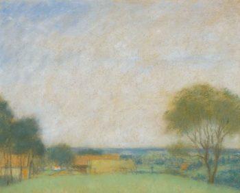 Hungarian Landscape | Jozsef Rippl Ronai | oil painting