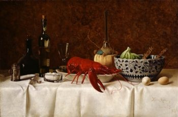 Still Life With Lobster | Milne Ramsey | oil painting