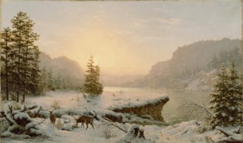 Winter Landscape | Mortimer L. Smith | oil painting