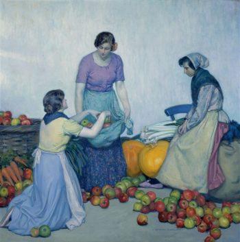 Apples (Les Pommes) | Myron G. Barlow | oil painting
