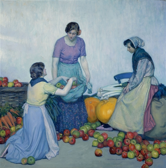 Apples (Les Pommes) | Myron G. Barlow | oil painting