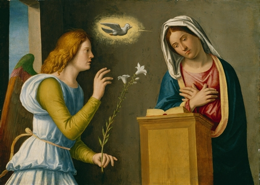 Annunciation To The Virgin | Paolo Veronese | oil painting