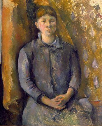 Madame Cezanne | Paul Cezanne | oil painting