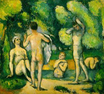 Bathers | Paul Cezanne | oil painting