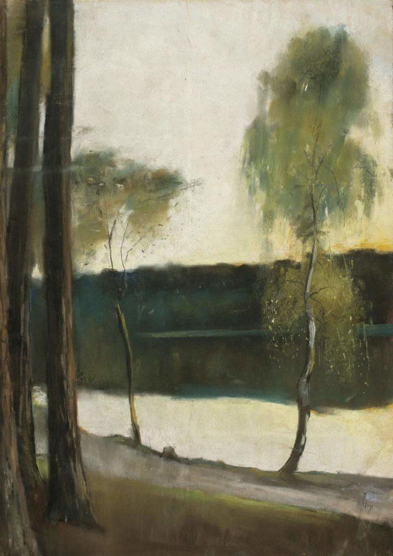 Landscape | Lesser Ury | oil painting