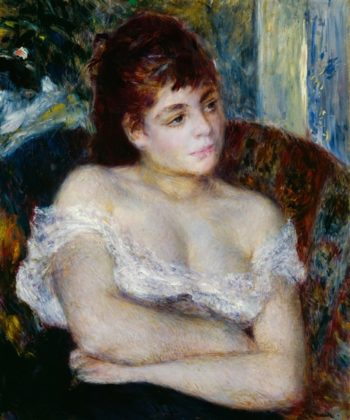 Woman In An Armchair | Pierre Auguste Renoir | oil painting