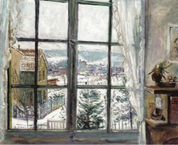 A View from the Window | Lucien Adrion | oil painting