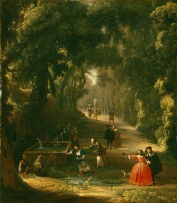 Blind Man's Buff | Pietro da Cortona | oil painting