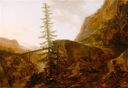 A Pass In The Apennines | Quiringh Gerritsz van Brekelenkam | oil painting