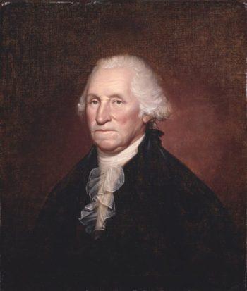 George Washington (The Gadsden-Morris-Clarke Portrait) | Rembrandt Peale | oil painting
