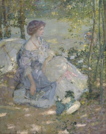 Summer Reverie | Richard Emile Miller | oil painting